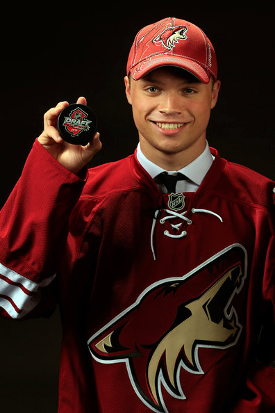 Hockey Prodigy, Max Domi, Was Drafted to the Phoenix Coyotes