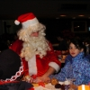 Santa on Wheels Tie Domi Monday December 12 2005. Air Canada Centre