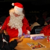 Santa on Wheels Tie Domi Monday December 12 2005. Air Canada Centre